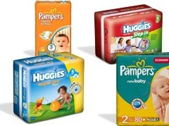 Destockage couches huggies