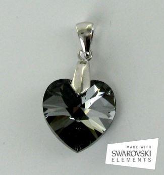 pendentif coeur Swarovski