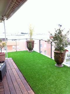 de la pelouse synth tique pour votre propri t. Black Bedroom Furniture Sets. Home Design Ideas