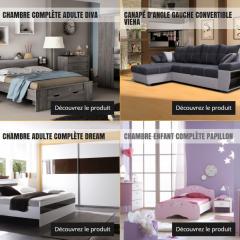 Les meubles discount chez Discount
