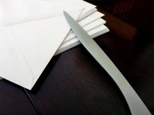 courrier sous pli