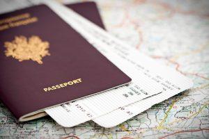 Passeport francais pour les voyages aux Etats Unis