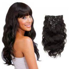 Entretien et soins des extensions cheveux à clips