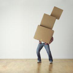 La bonne organisation d'un déménagement urgent